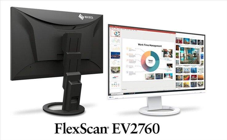 Image 1 : Un écran presque sans bordure chez Eizo, le FlexScan EV2760