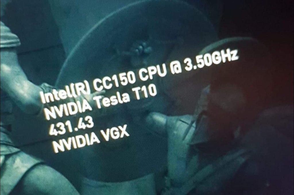 Image 5 : Un surprenant processeur Intel CC150 à huit cœurs et seize threads, mais sans Turbo !