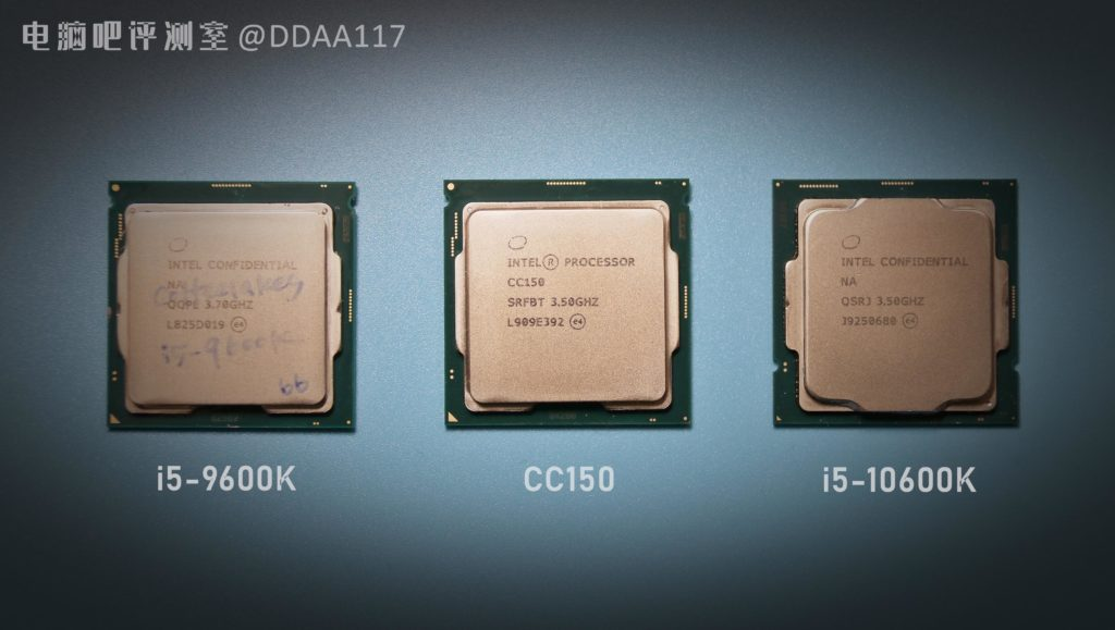 Image 1 : Un surprenant processeur Intel CC150 à huit cœurs et seize threads, mais sans Turbo !