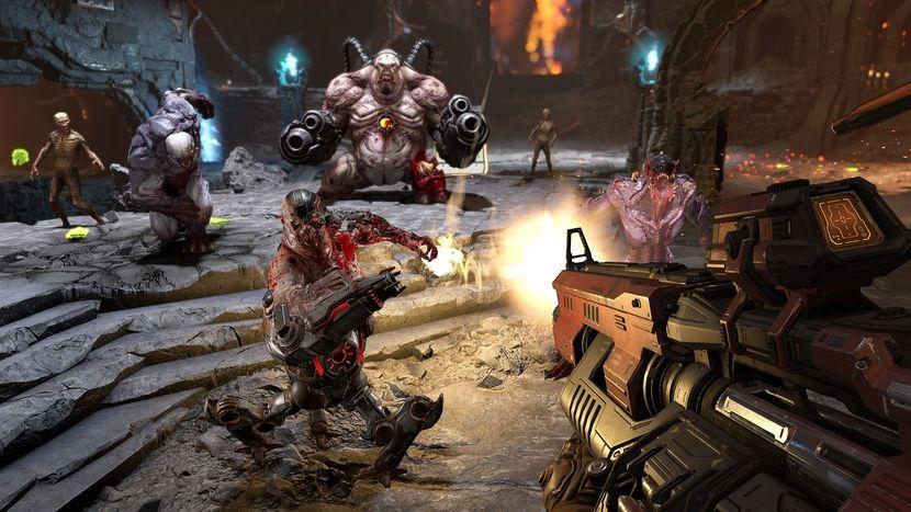 Image 1 : Vidéo : les dix premières minutes de Doom Eternal