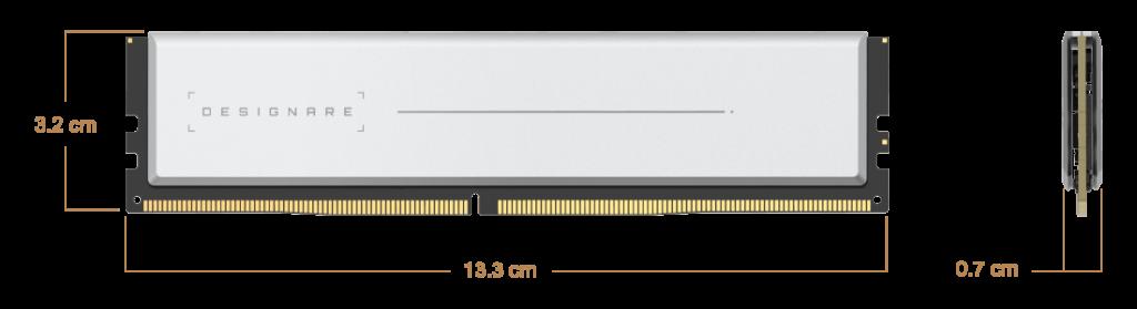 Image 3 : Des kits mémoire Designare en 2 x 32 Go chez Gigabyte