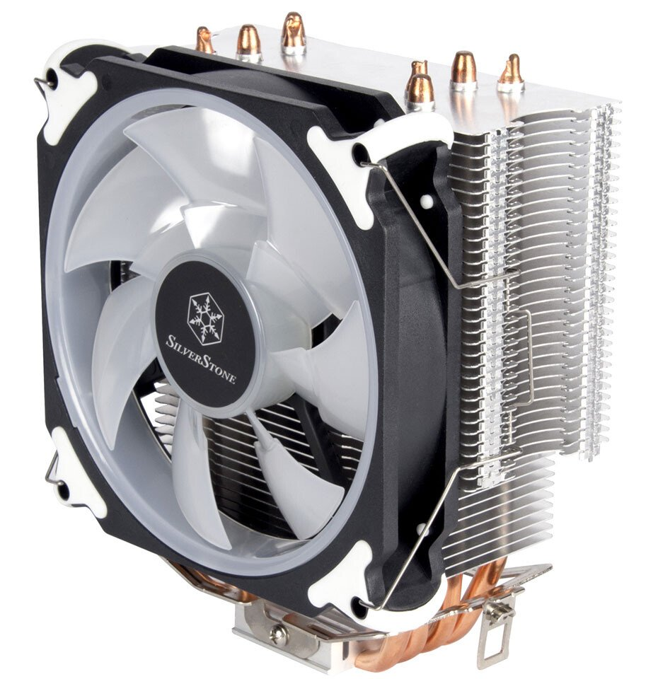 Image 3 : SilverStone ajoute un dissipateur CPU RGB à sa gamme Argon