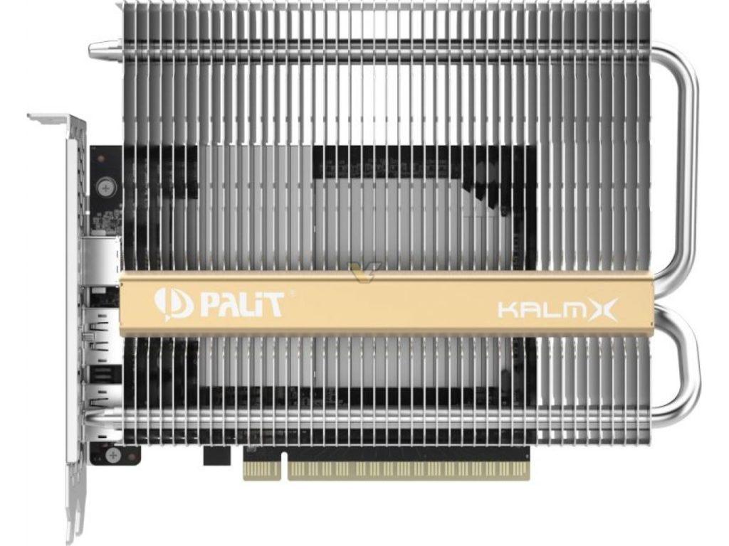 Image 1 : Palit propose la première GTX 1650 refroidie passivement