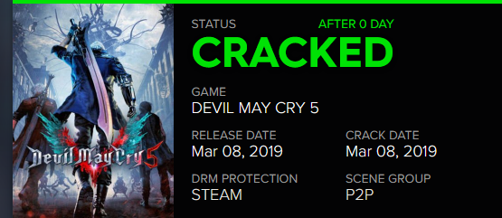 Image 1 : Capcom supprime le DRM Denuvo de Devil May Cry 5
