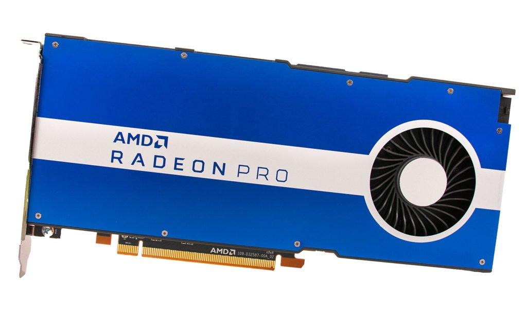 Image 2 : AMD officialise ses Radeon Pro W5500 et W5500M