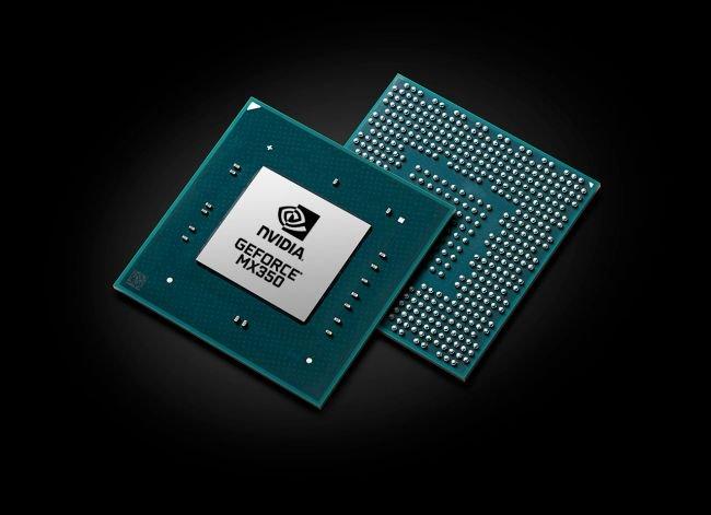 Image 1 : La MX350 est 30 % plus performante que la MX250