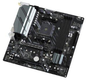 Image 2 : AMD : le PCIe 4.0 est bien présent sur les cartes mères B550A