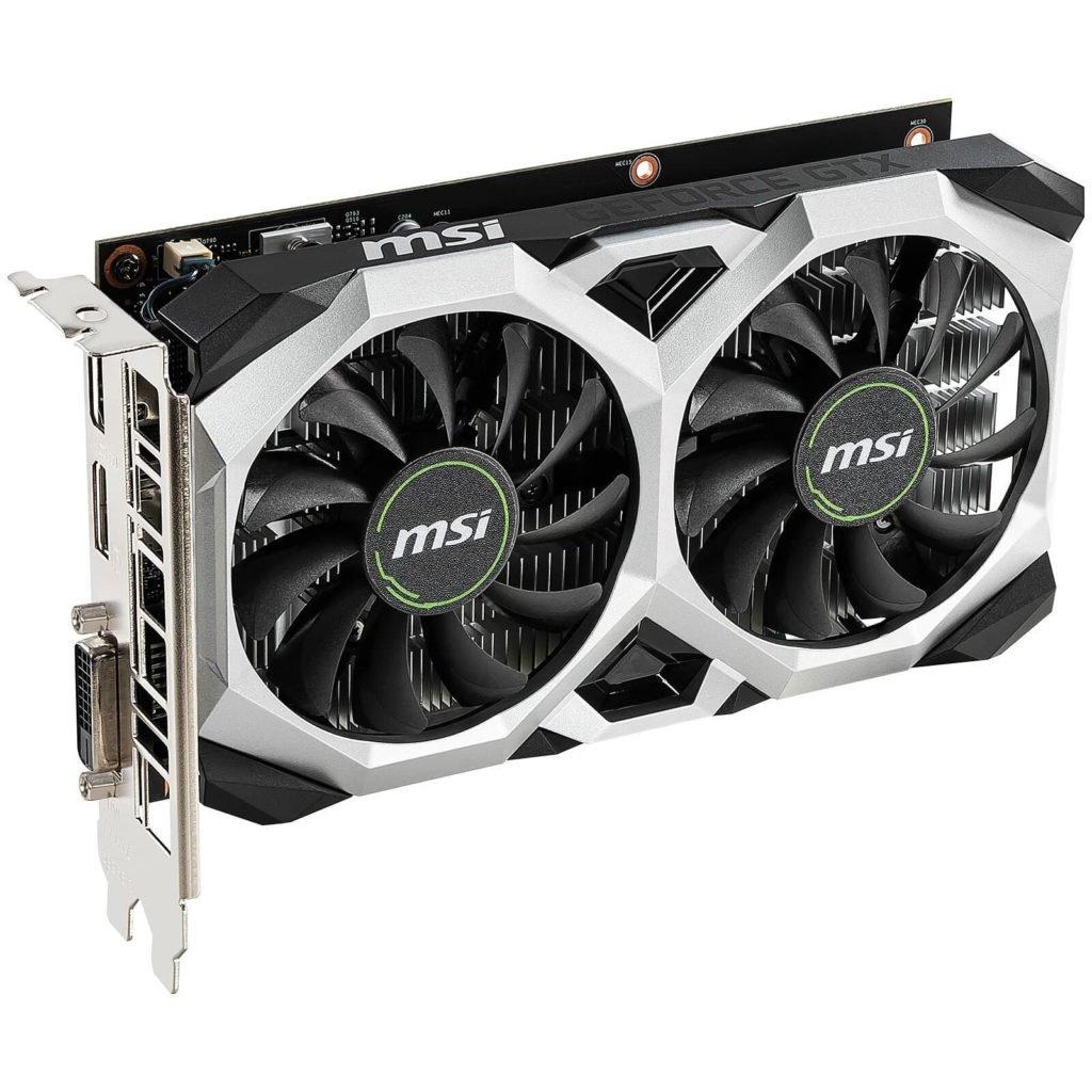 Image 2 : MSI dépose des GeForce GTX 1650 hybrides avec de la mémoire GDDR6