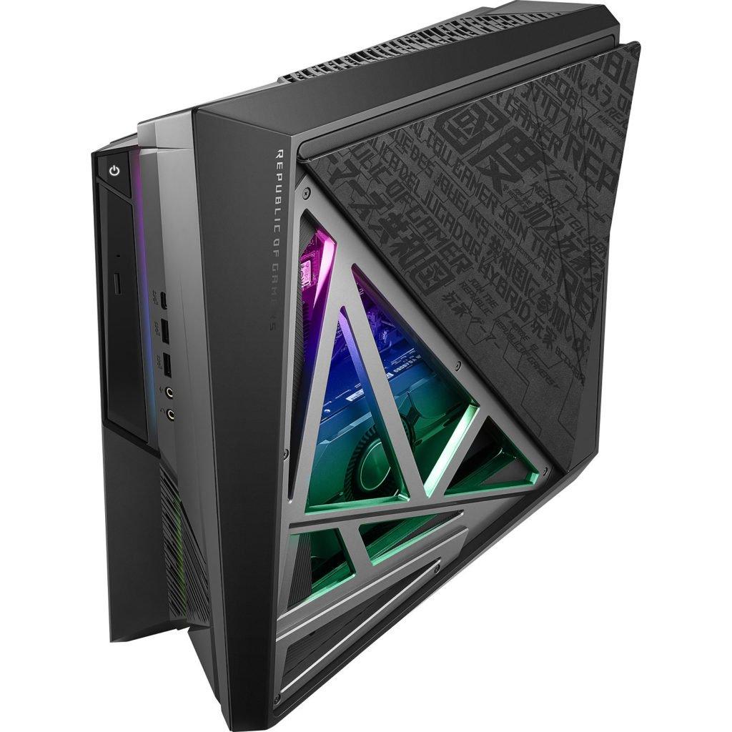 Image 1 : Asus remet à jour son mini-PC ROG Huracan G21