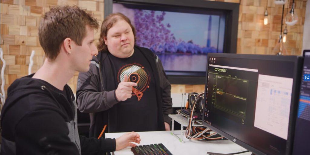 Image 1 : Vidéo : le Ryzen Threadripper 3990X est capable de faire tourner Crysis sans GPU
