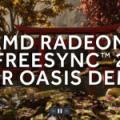 Vidéo : une démo AMD pour montrer sa technologie FreeSync 2 HDR