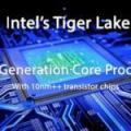 Intel : premiers benchs d'un Tiger Lake en 4C/8T dans Geekbench